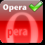 opera is best choice on this site.